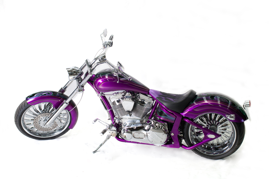 PRO-ONE ROGUE Purple  w Tribal Design