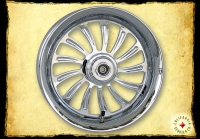 CHROME BILLET WHEEL LUCKY 13  AC-1200