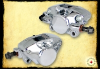 CHROME BRAKE CALIPER FRONT/REAR AC-1007